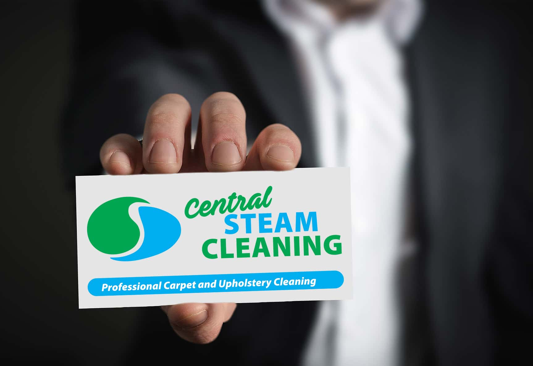 Carpet and upholstery cleaners Stirling - steam cleaning logo